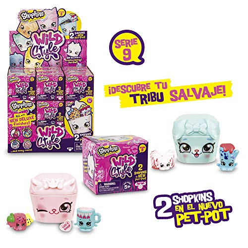 Taille unique Multicolore Shopkins Join the Party Pack de 12