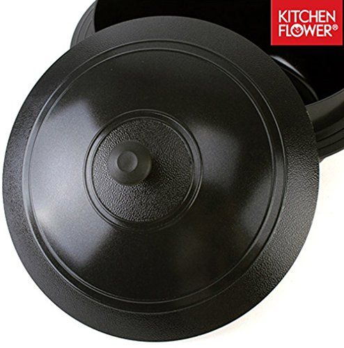 Hansang IH Induction Ceramic Cauldron Korean Traditional Pot All Heat Sources Cookable (18CM 2L)