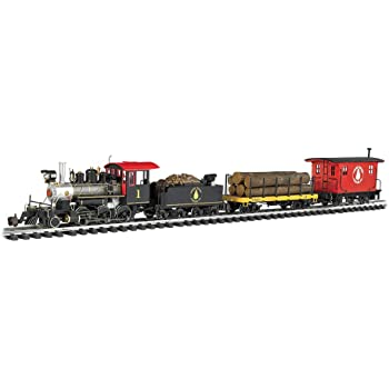 "Bachmann Trains - North Woods Logger Ready To Run Electric Train Set - Large ""G"" Scale"