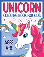 Unicorn Coloring Book for Kids: Coloring Activity for Ages 4 - 8