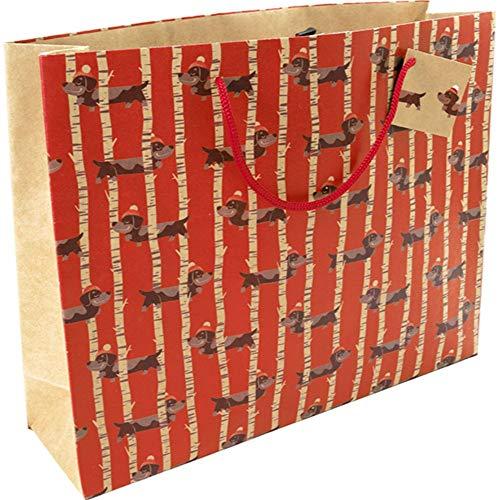 Clairefontaine Generosity Shopper Kraft Bolsa de regalo, 35 x 10 x 27,5 cm