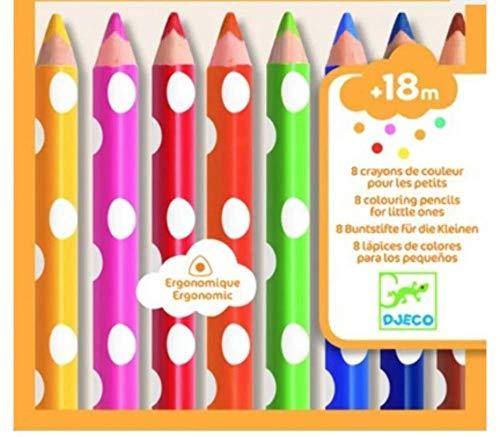 Djeco DJ09004 Die Farben für die Kleinen gemischt