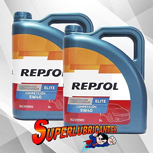 Mundocoche Repsol Elite Competición 5W40 2x5L(10Litros)