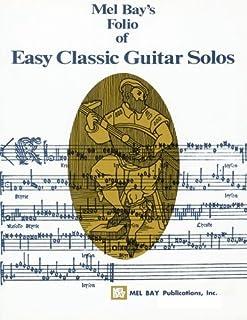 Folio of Easy Classic Guitar Solos