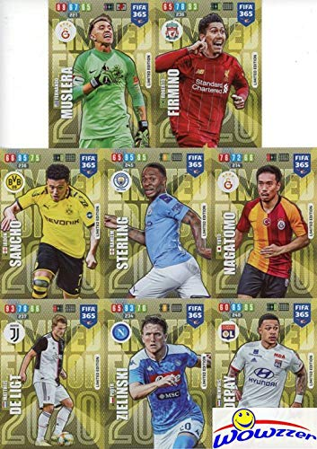 Panini Adrenalyn XL fifa 365 2020 premium oro 3 x Booster Limited Edition