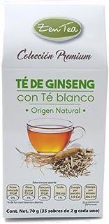 Zentea Té de Ginseng con Té Blanco, 35 g