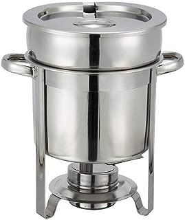 Winco 207 Stainless Steel Soup Warmer, 7-Quart, Medium