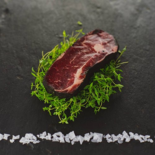 ASCHE AGED Entrécote/Rib Eye Steak vom Weiderind 600g Steak Boss Cut