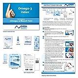 Omega-3 Index Plus: Measures Blood Levels of Omega-3, Trans fats, and Omega-6:Omega-3 ratios