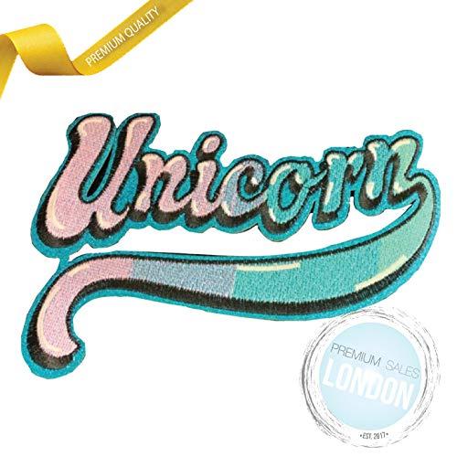 Parche para planchar, diseño de unicornio PSL, para coser o planchar