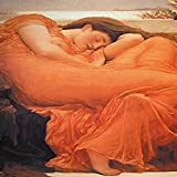 Buyenlarge 'Flaming June' Paper Poster, 20 by 30-Inch