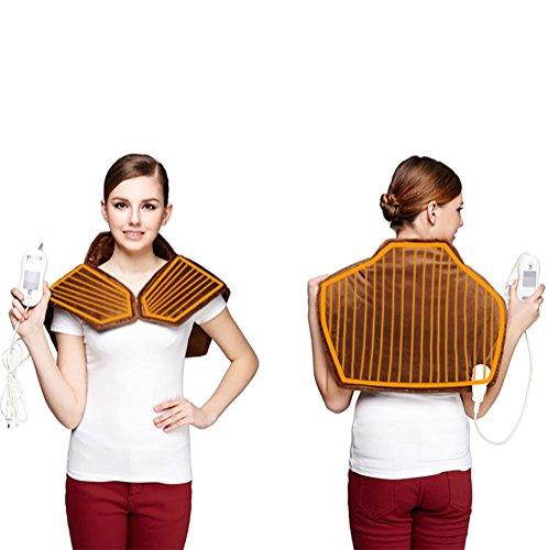 RERE warmtetherapie hals en schouders wrap sjaal (bruin)