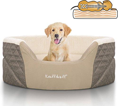 Knuffelwuff 13984-001 Orthopädisches Hundebett, Hundekissen, Hundesofa, HundekorbLena mit...