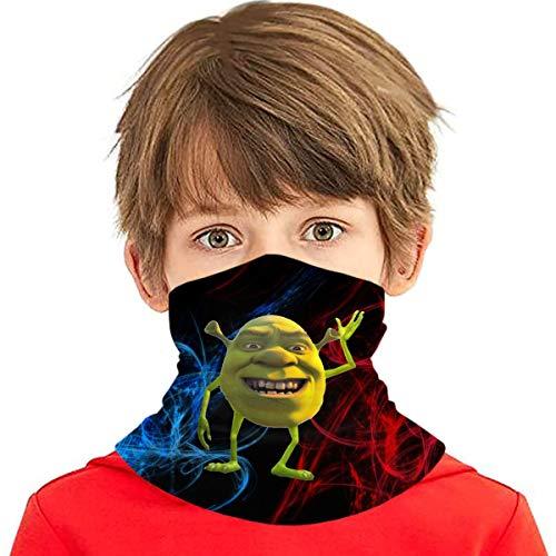 Shrek Wazowski Teen ice Cream face Towel Seamless Masks