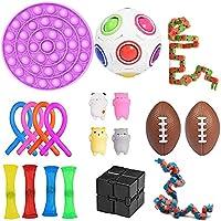 Sensory Fidget Speelgoed Gereedschap Set Knijpen Ballen Stress Angst Relief Speelgoed Stress Ball Kid Volwassene,...