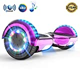 MARKBOARD Hoverboard Gyropode Bluetooth 6.5 Pouces, Scooter Electrique Moteur 700W Self-Balance Board E-Scooter Auto-équilibrage Électrique Skateboard