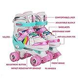 Zoom IMG-1 hbhhyrt pattini a rotelle ragazza