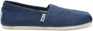 TOMS Silver Iridescent Glimmer Tiny Mary Jane Flat 10011521