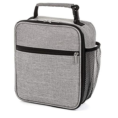Bolsa de almuerzo aislada Camo Cooler portátil caja de transporte para niños y niñas mujeres gris bolsa de almuerzo senderismo picnic