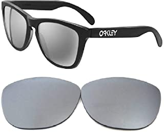 Galaxy Lenses For Oakley Frogskins Sunglasses Titanium Polarized 100% UVAB