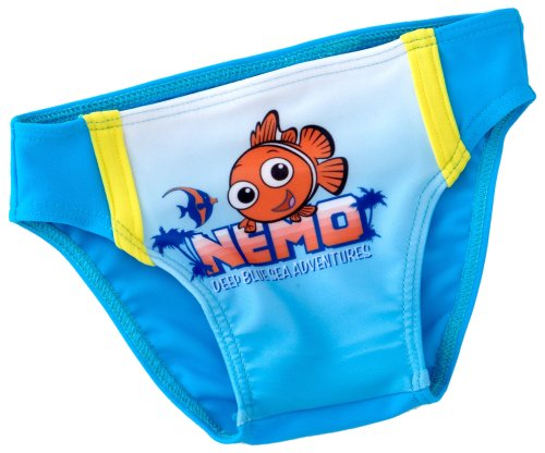 Disney 881 - Nemo zwembroek opdruk lichtblauw