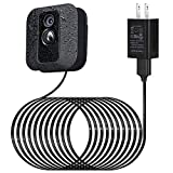 Power Adapter for Blink XT / XT2 & All-New Blink Outdoor Indoor Camera, with 25 ft/7.5 m Weatherproof Cable Continuously Charging Blink Camera, No More Battery Changes - Black