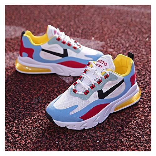 Youpin Zapatos deportivos para mujer, de primavera, para estudiantes, de papá, transpirables, color a juego para mujer, (color: 5, talla de zapato: 40 (25 cm)