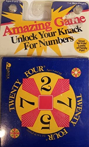 tienda de venta Twenty Four - - - Pocket Edition (Math Brain Teaser Cards) - [blanco Center Square] by Suntex Intl  grandes precios de descuento