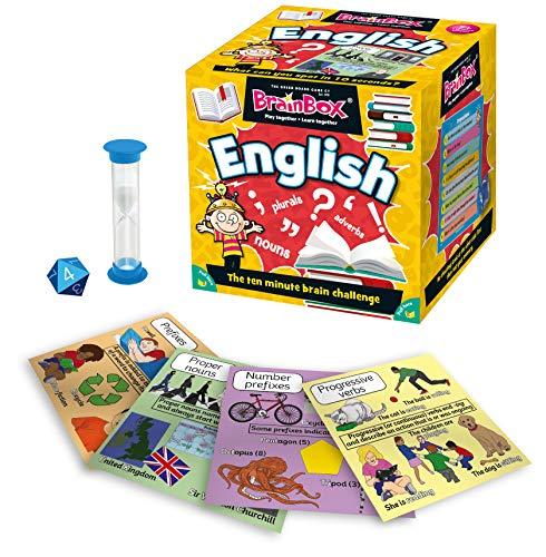 Green Board Games 90045 BrainBox English (spel på engelska)