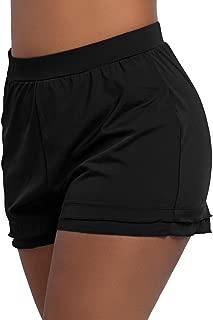 Women's Swimsuit Shorts Plus Size Boardshorts Girls Swim Bottoms Swimwear Trunks