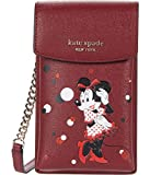 Kate Spade New York Minnie Mouse North/South Crossbody for iPhone Red Multi One Size