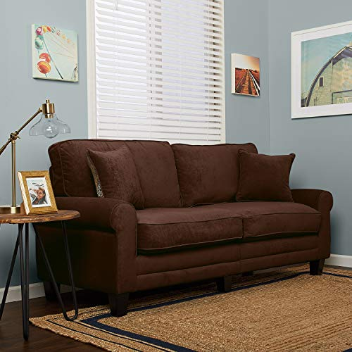 "Serta RTA Copenhagen Collection 73"" Sofa in Rye Brown"