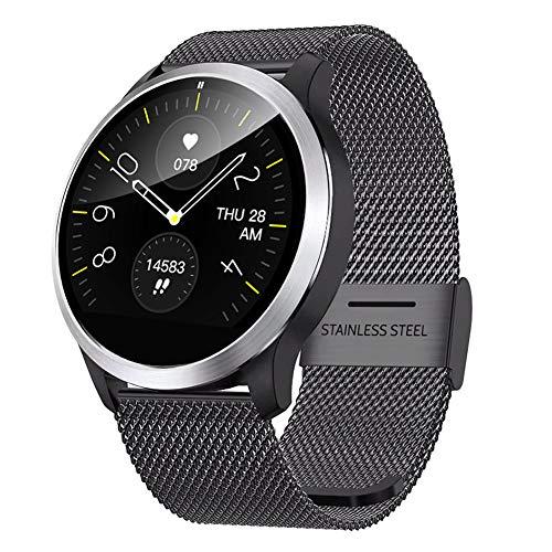 TCYLZ Reloj inteligente Z03 con electrocardiograma para hombres y mujeres, para deportes al aire libre, impermeable, monitor de sueño, presión arterial y calorías, para Android e iOS