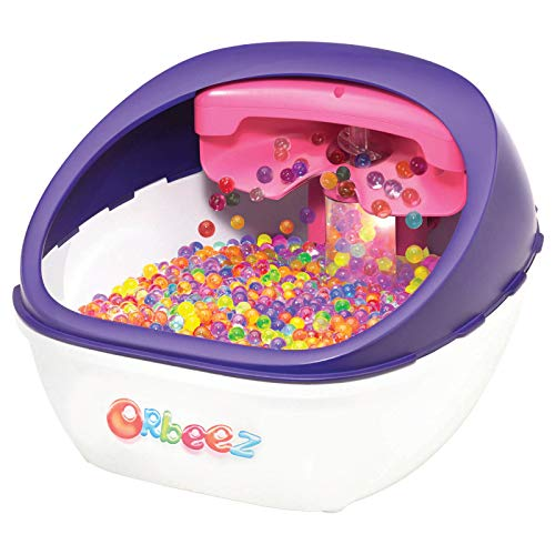 Orbeez Ultimate Soothing Foot Spa, Purple Edition | Includes 2,000 Absorbent Rainbow Water Beads