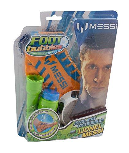 Foot Bubbles 044120 Seifenblasen Kinder Fussball Spiel Lionel Messi FootBubbles bunt