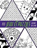 Jeux et Puzzles: 100 jeux de Mots mêlés, Trouve les différences, Dessins point par point, Cherche l'intrus, Jeu de labyrinthe, Livre de jeux pour enfants dès 5 ans.