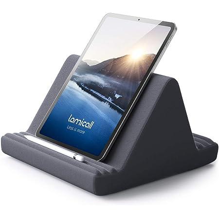 ピロー スタンド タブレット クッション スタンド 膝上 膝 枕 まくら ホルダー, Lomicall iPad用 stand : 縦置きスタンド, 置き パッド, 立てる, 設置, あいぱっと, タブレット対応(4~13''), アイフォン, アイパッド ミニ エア プロ, iPad, iPad mini, iPad Air, iPad Pro 9.7 10.2 10.5 10.9 11 12.9, S7 S8 Note 6, Kindle, Sony, Huawei MediaPad