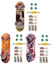 WOWOWO Alloy Stand Finger Skateboard Fingerboard Board Skate Trucks Kid Toys Regalo para niños
