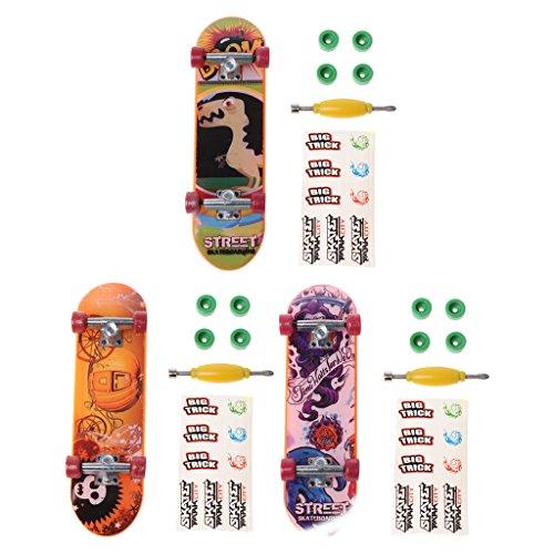 Xuniu 1 set Vingerbord, Legering Stand Vinger Skateboard VingerBoard Skate Trucks Kid Toys Kinderen Gift Willekeurige Kleur
