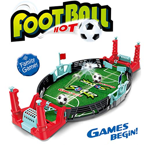 Read About EKIMI Mini Foosball Table - Table Football Sports Soccer Game Ball - Children's Education...