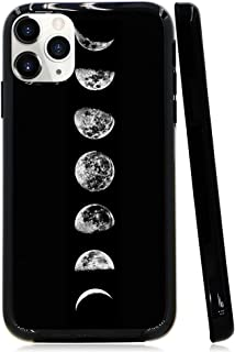 iPhone 11 Pro Case, Lartin Soft Flexible Jellybean Gel Case For iPhone 11 Pro 5.8 Inch 2019 (Moon Phase)