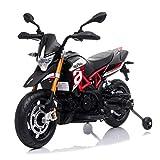 TOBBI 12V Kids Ride-On Motorcycle ,Aprilia Licensed Battery Powered Dirt Bikes for Kids w/ Training...
