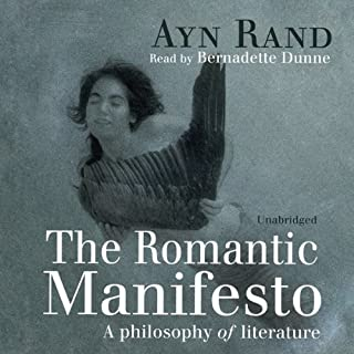 The Romantic Manifesto audiobook cover art