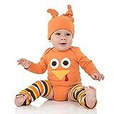 juDanzy Halloween & Christmas Baby Gift Box outfit set (Newborn, Tom Turkey)