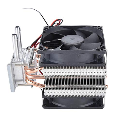 Kit de refrigeración por agua de 12 V, refrigeración termoeléctrica Peltier de 12 V, sistema de refrigeración por agua para bricolaje, dispositivo de refrigeración con ventilador para PC / pecera / re