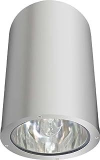Dabmar Lighting DW3760-AL Powder Coated Cast Cylinder Ceiling Fixture Aluminum