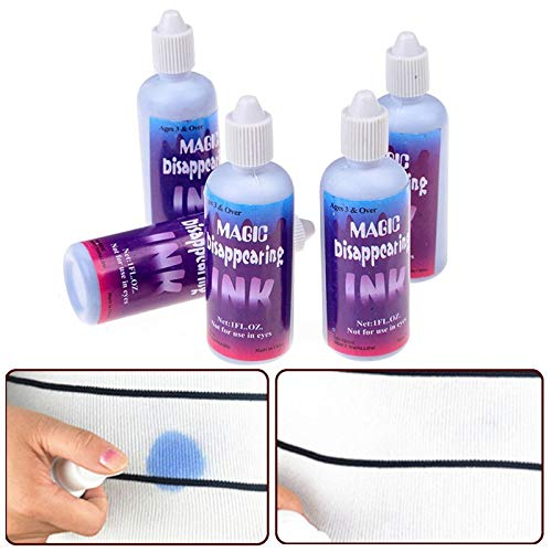 LYPYY New Magic Disappear Ink Tricky Toys Halloween Nouveauté Trick Toy Spoof Friends Stealth Ink Magic Funny Toys Cadeaux, 1