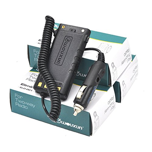 WOUXUN ELO-004 Car Charger Battery Eliminator für KG-UV9D Plus Walkie Talkie Funkgerät