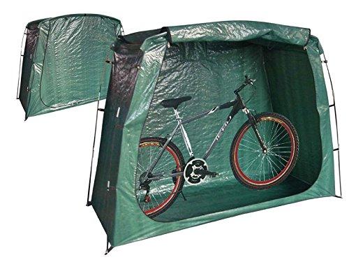 Wetterschutzplane Schutzhülle Fahrradgarage, Zelt für Fahrrad, Bike, Garten, Moped, Mofa, Roller uvm.