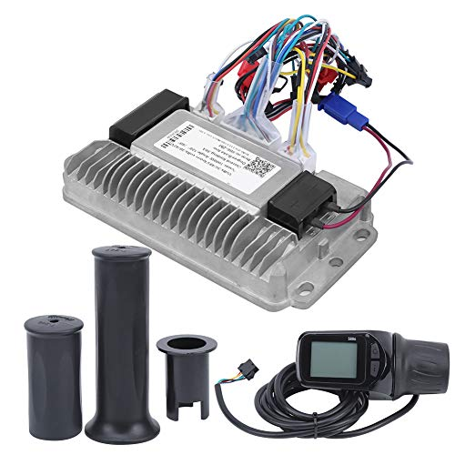 Redxiao 【𝐁𝐥𝐚𝐜𝐤 𝐅𝐫𝐢𝐝𝐚𝒚】 Triciclos eléctricos de disipación de Calor Controlador sin escobillas, Triciclos eléctricos de Aluminio de 3 Modos Controlador, Accesorio de triciclos eléctricos